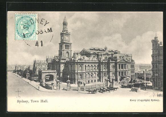 AK Sydney, Town Hall, Rathaus 0