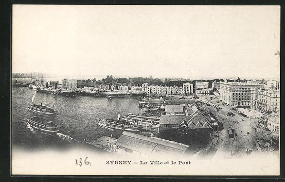 AK Sydney, La Ville et le Port, Panorama 0