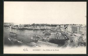 AK Sydney, La Ville et le Port, Panorama