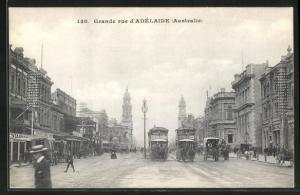 AK Adelaide, Grande rue, Perdebahn
