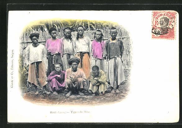 AK Laos, Types de Meos 0