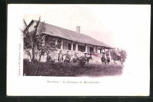 AK Laos, Haut-Laos, La Residence de Dien-bien-phu