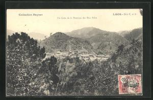 AK Laos, Hua Pahn, Un Coin de la Province
