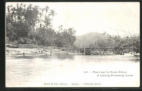 AK Luang-Prabang, Pont sur le Nam Khan 0