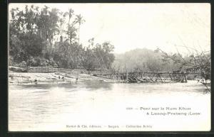 AK Luang-Prabang, Pont sur le Nam Khan