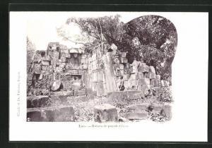 AK Laos, Ruines de pagode Cham