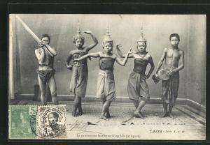 AK Laos, La pantomime laotienne Nang Méo