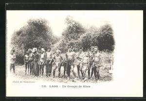 AK Laos, Un Groupe de Khas