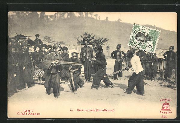 AK Laos, Danse de Kouis 0