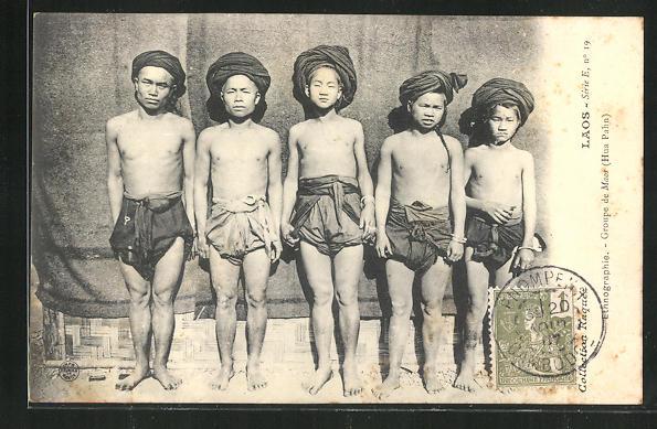 AK Laos, Ethnographie, Groupe de Maos (Hua Pahn) 0