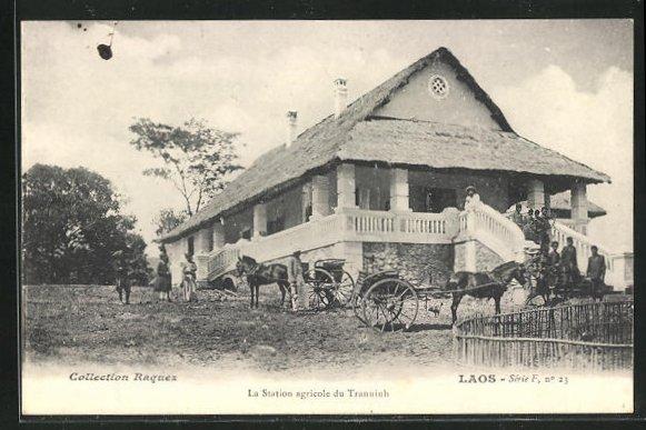 AK Tranninh, La Station agricole du Tranninh 0