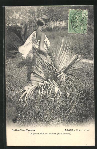 AK Ban-Mouang, La Jeune Fille au Palmier 0