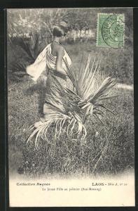AK Ban-Mouang, La Jeune Fille au Palmier