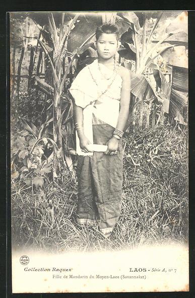 AK Savannaket, Fille de Mandarin du Moyen-Laos 0