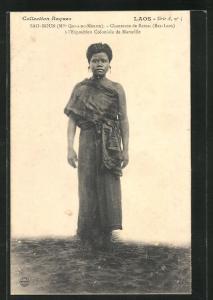 AK Sao-Boun, Chanteuse de Bassac