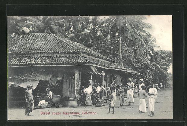 AK Colombo, Street scene Maradana 0