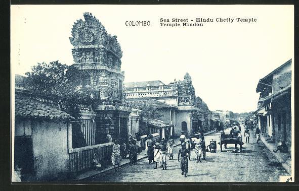 AK Colombo, Sea Street, Hindu Chetty Temple 0