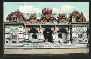 AK Colombo, Hindoo Temple, Sea Street