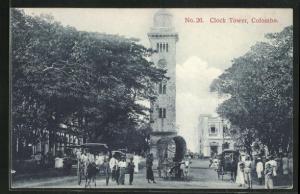 AK Colombo, Clock Tower und geschäftiges Treiben