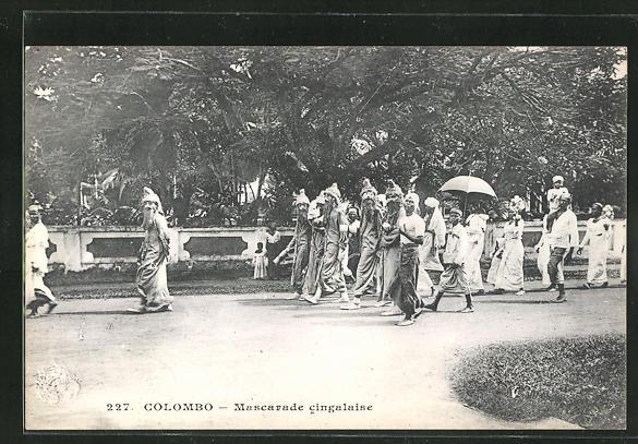 AK Colombo, Mascarade cingalaise 0
