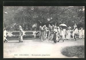 AK Colombo, Mascarade cingalaise