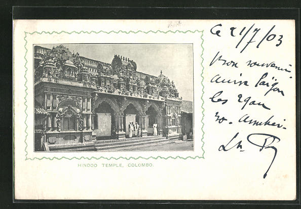AK Colombo, Hindoo Temple 0