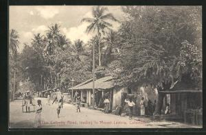 AK Colombo, Colpetty Road, leading to Mount Lavinia, Ortspartie