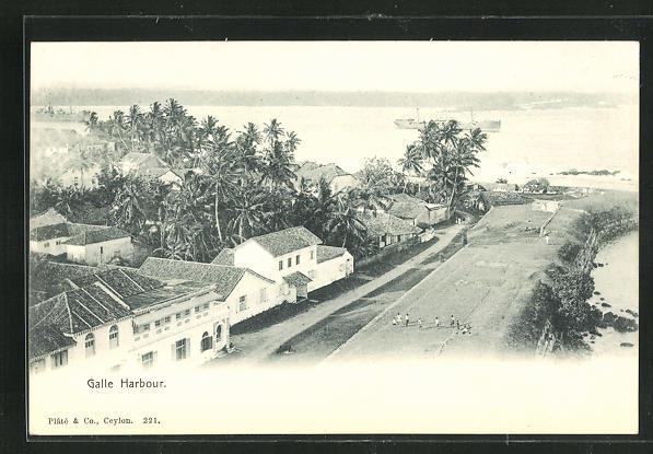 AK Galle Harbour, Hafen 0