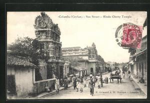 AK Colombo, Sea Street, Hindu Chetty Temple