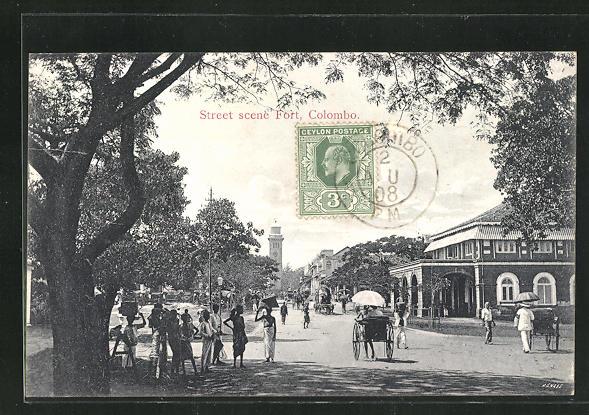 AK Colombo, Street scene Fort 0