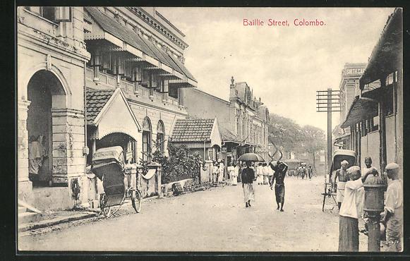 AK Colombo, Baillie Street, Strassenpartie 0