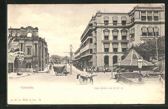 AK Colombo, York Street and Grand Oriental Hotel 0