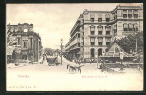 AK Colombo, York Street and Grand Oriental Hotel