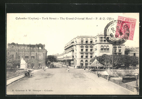 AK Colombo, The Grand Oriental Hotel, York Street 0