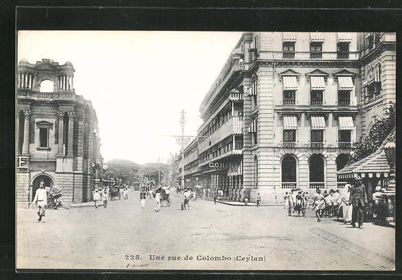 AK Colombo, Partie am Grand Oriental Hotel 0