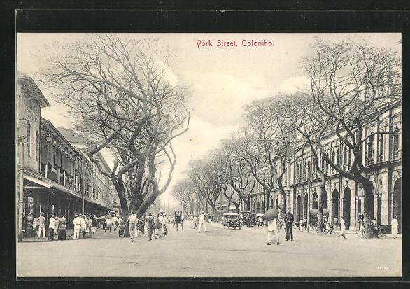 AK Colombo, York Street, Strassenansicht 0