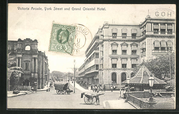 AK Colombo, Victoria Arcade, York Street and Grand Oriental Hotel 0