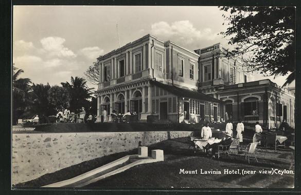 AK Mount Lavinia Hotel, Gebäudeansicht 0
