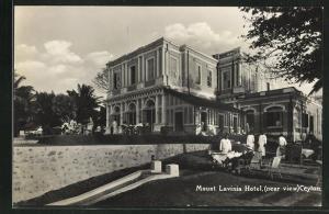 AK Mount Lavinia Hotel, Gebäudeansicht