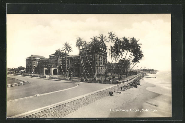 AK Colombo, Galle Face Hotel, Totalansicht 0