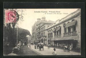 AK Colombo, Princes`s Street, Strassenpartie