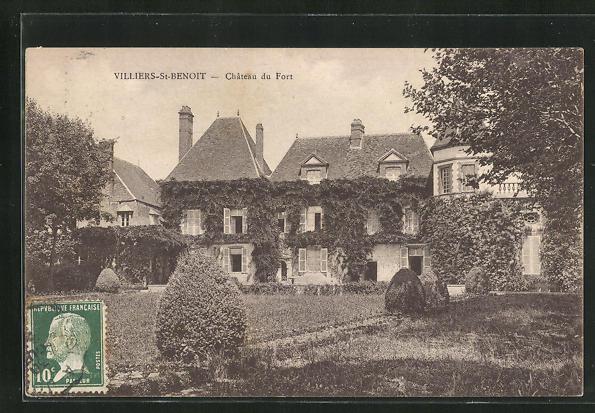 AK Villiers-St-Benoit, Chateau du Fort 0
