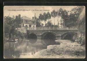 AK Villiers-Saint-Benoit, Le Pont sur l`Ouanne
