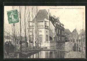 AK Villiers-St-Benoit, Le Chateau du Fort, cote Nord
