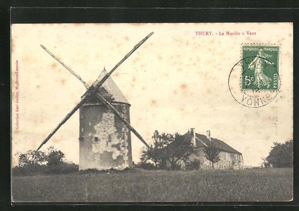 AK Thury, Le Moulin a Vent 0