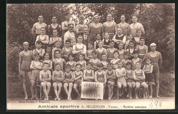 AK Migennes, Section natation 0