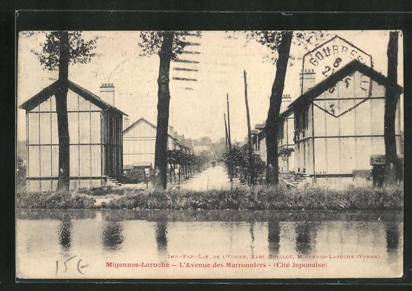 AK Migennes-Laroche, L`Avenue des Marronniers 0