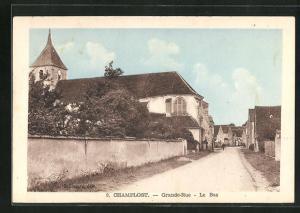AK Champlost, Grande-Rue, Le Bas