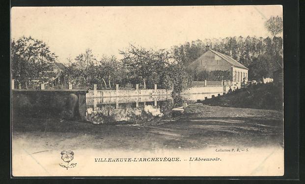 AK Villeneuve-l`Archeveque, L`Abreuvoir 0