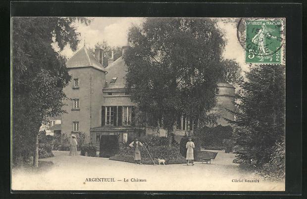 AK Argenteuil, Le Chateau 0